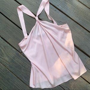Tahari Pale pink Halter Top